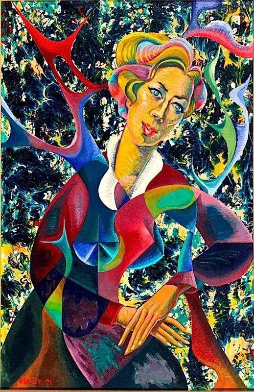 Vlaicu Ionescu:Portretul Lidiei, soția pictorului