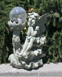 This decorative and expressive beautifully designed solar fairy will brighten any outdoor setting. http://www.mysolarshop.com/fairy-ball-solar-light-5w48