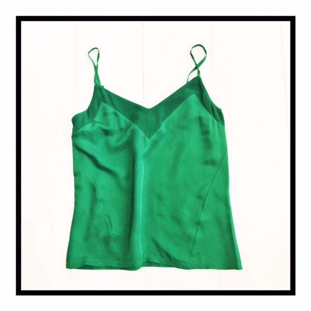Silky Green / Top by Bellerose
