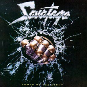 "Power Of The Night"" is the 2nd full-length studio album by US, Florida based heavy/power metal act Savatage. Description from metalmusicarchives.com. I searched for this on bing.com/images"