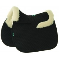 SP20 - NuuMed HiWither half wool saddlepad with collars in general purpose
