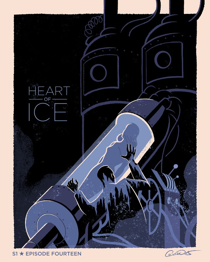 Batman The Animated Series Episode 14; Heart of Ice - George Caltsoudas