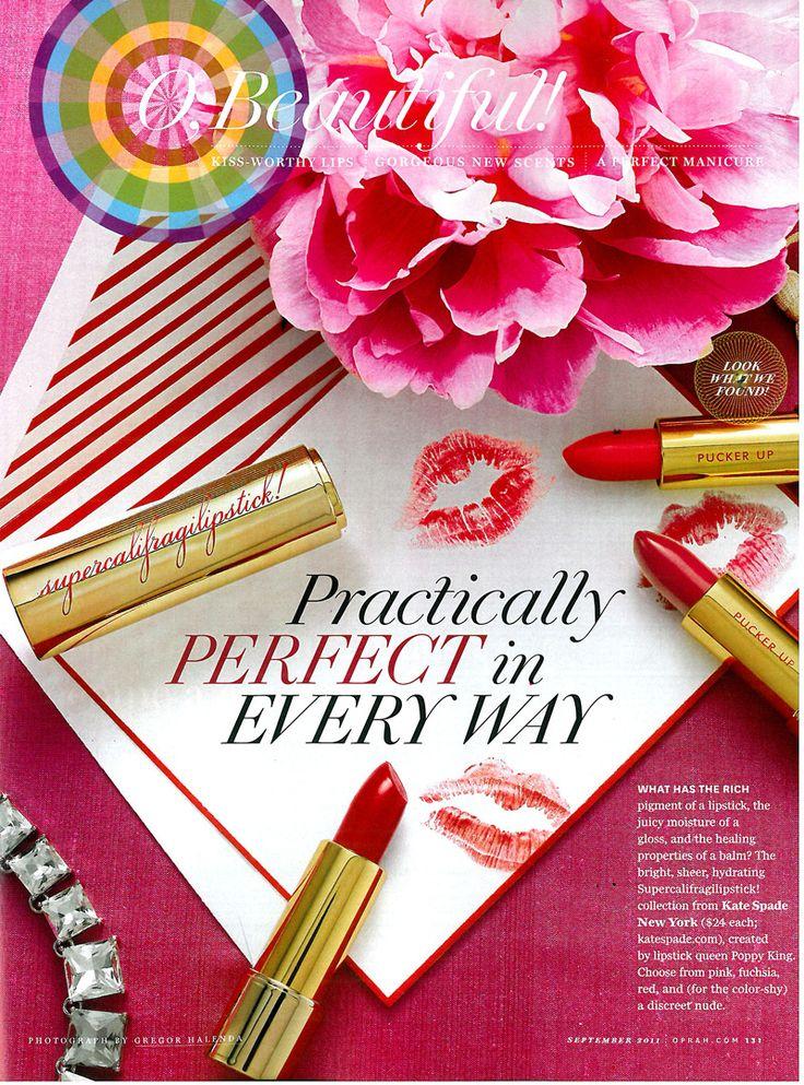 Red lipstick- secret weapon