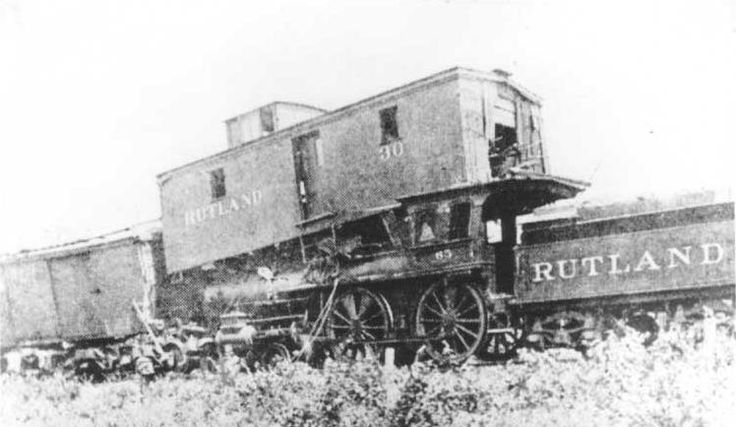 1800's-1905 Railroad Accidents and Wrecks - NE Rails