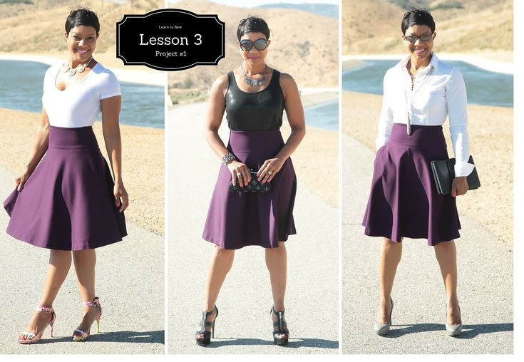 Beginner's Sewing Course - Project #1 - Lesson 3 (Part 1) - The Circle S...
