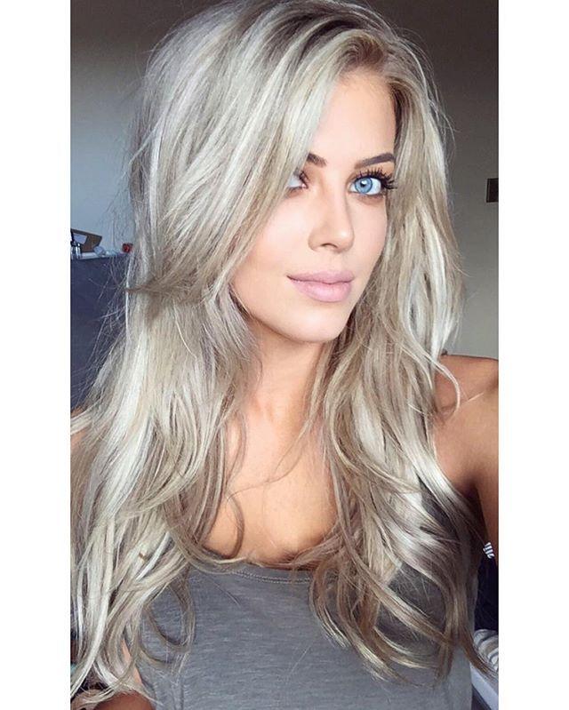"Chloé Boucher - ""Back in Bedford ""   #makeup #blonde #hair"