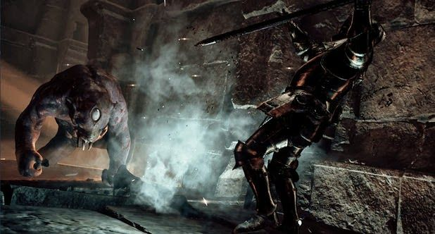 PS4.sx: New Deep Down PS4 Gameplay - Tokyo Game Show