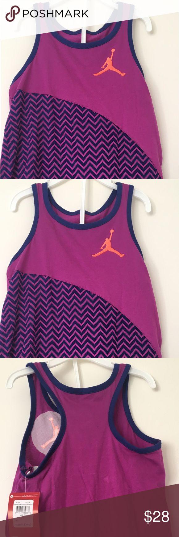 Jordan Girls Active Purple & Orange Set Size 6X Jordan Girls Active Purple & Orange 2 Piece Top And Short Set Size 6X Jordan Matching Sets