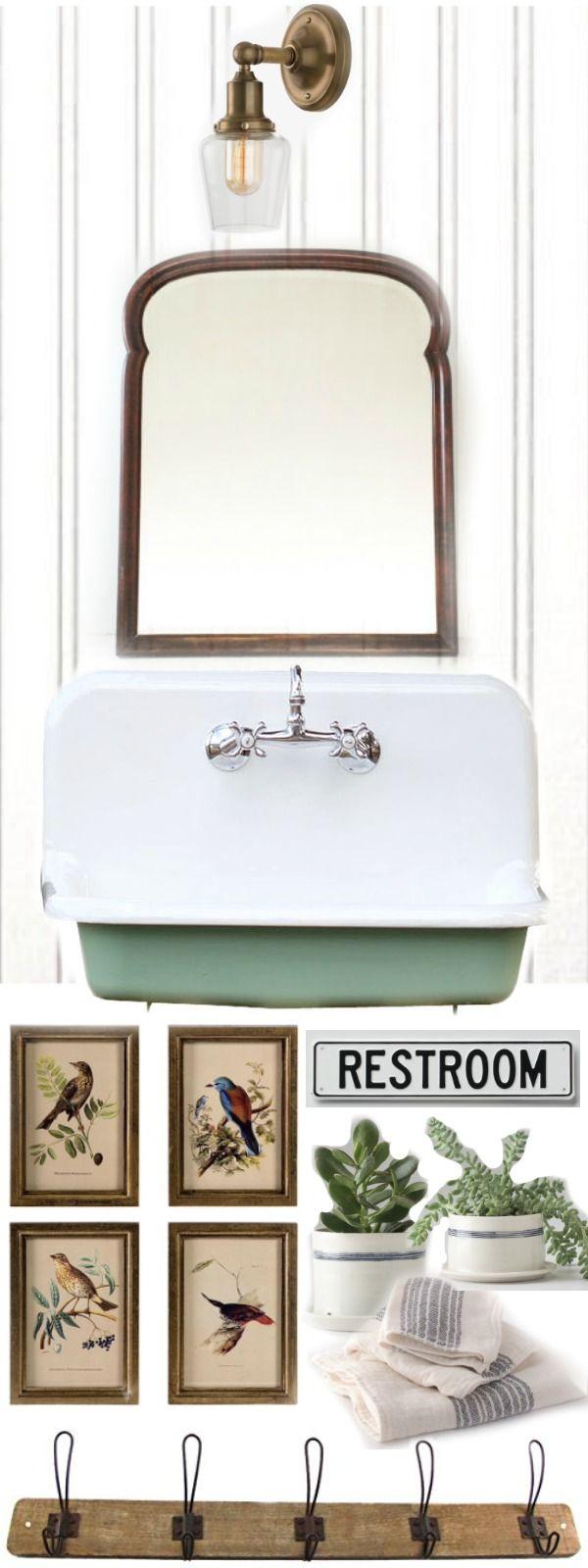 Entryway Bathroom Makeover – The Design |