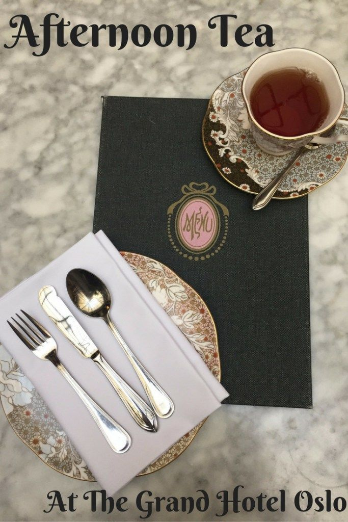 Afternoon tea at the Grand Hotel Oslo | Ladies What Travel