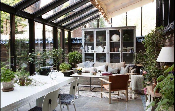 HOME & GARDEN: 30 idées pour aménager un porche ou une véranda en hiver