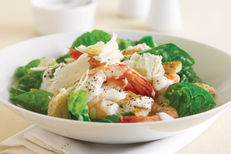 Prawn Caesar Salad Recipe - Taste.com.au