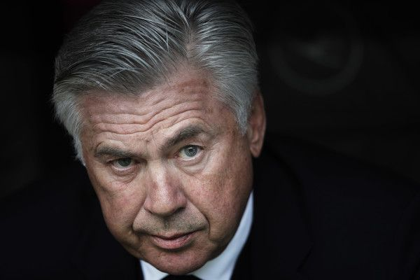 Carlo Ancelotti Photos Photos - Carlo Ancelotti head coach of Bayern Munich during the Bundesliga match between Bayern Muenchen and FC Augsburg at Allianz Arena on April 1, 2017 in Munich, Germany. - Bayern Muenchen v FC Augsburg - Bundesliga