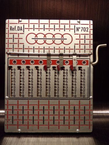 Machine-a-calculer-Ref-DA-702-60-039-s-vintage