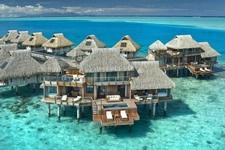 Presidential Overwater Villa-Hotel Hilton Bora Bora Nui Resort & Spa