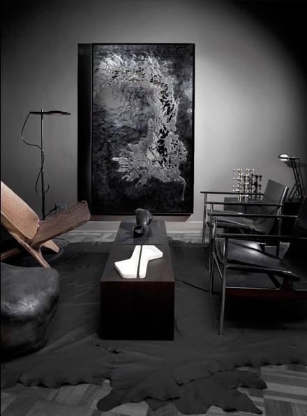 157 Best Dark Interiors Images On Pinterest Dark