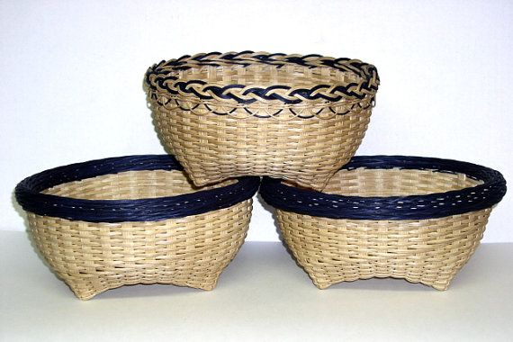 Basket Weaving Pattern Instructions to Weave the by DiannesBaskets