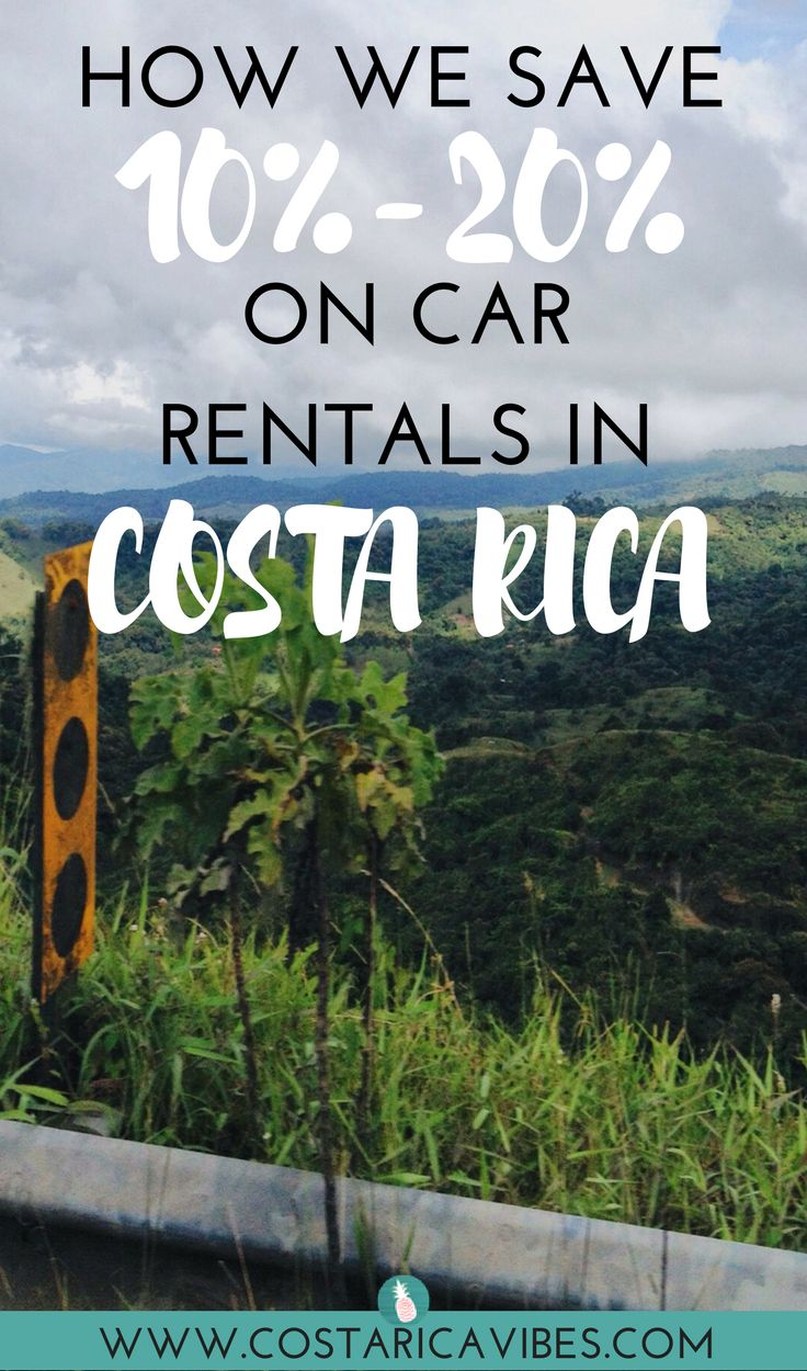 Great information on how to rent a car in Costa Rica along with how we save 10% to 20%.