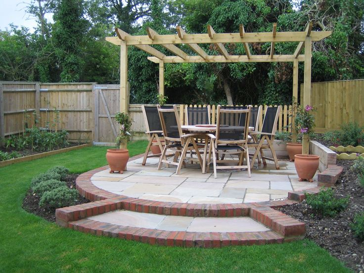 38 best garden ideas images on pinterest backyard ideas for Garden design decking areas