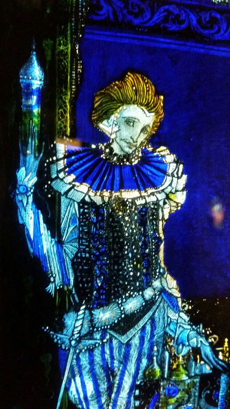 The Eve of St Agnes by Harry Clarke - Oh, I was trying to act a little tough. I'm a sensitive soul actually. You don't believe me? Really? Omg