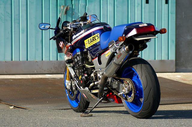 Mercenary: GPZ 900 Racer  #KawasakiGPZ #Mercenary #MercenaryGarage