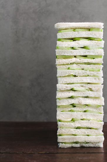 How to make perfect cucumber sandwiches