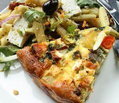opskrift på en sund og lækker grøntsagstærte