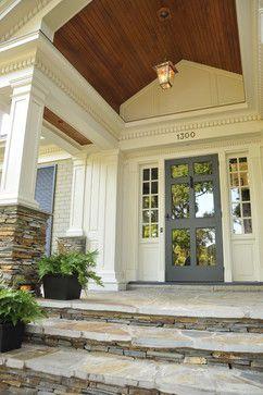 design by DeRhodes Construction. beautiful entry, beautiful storm door.