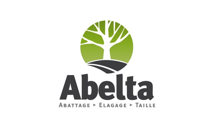 Nouveau logo pour Abelta • Création du nouveau logo de la société Abelta spécialisé dans l'abattage, l'élagage et la taille d'arbres | Graphic Dimension
