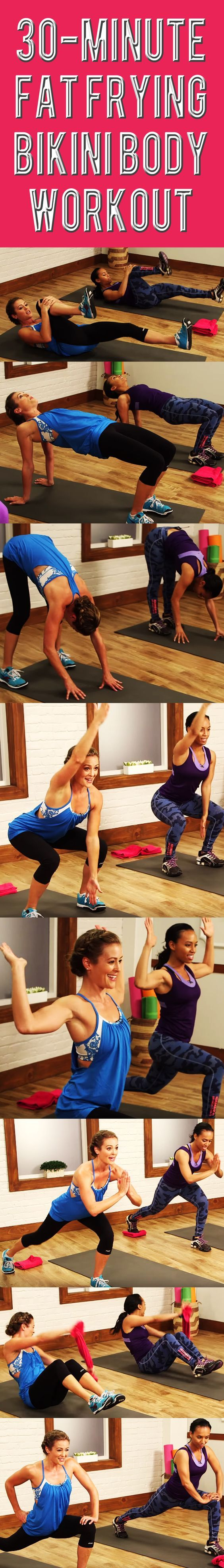 This workout was designed with SUMMER in mind — specifically swimsuit time and…