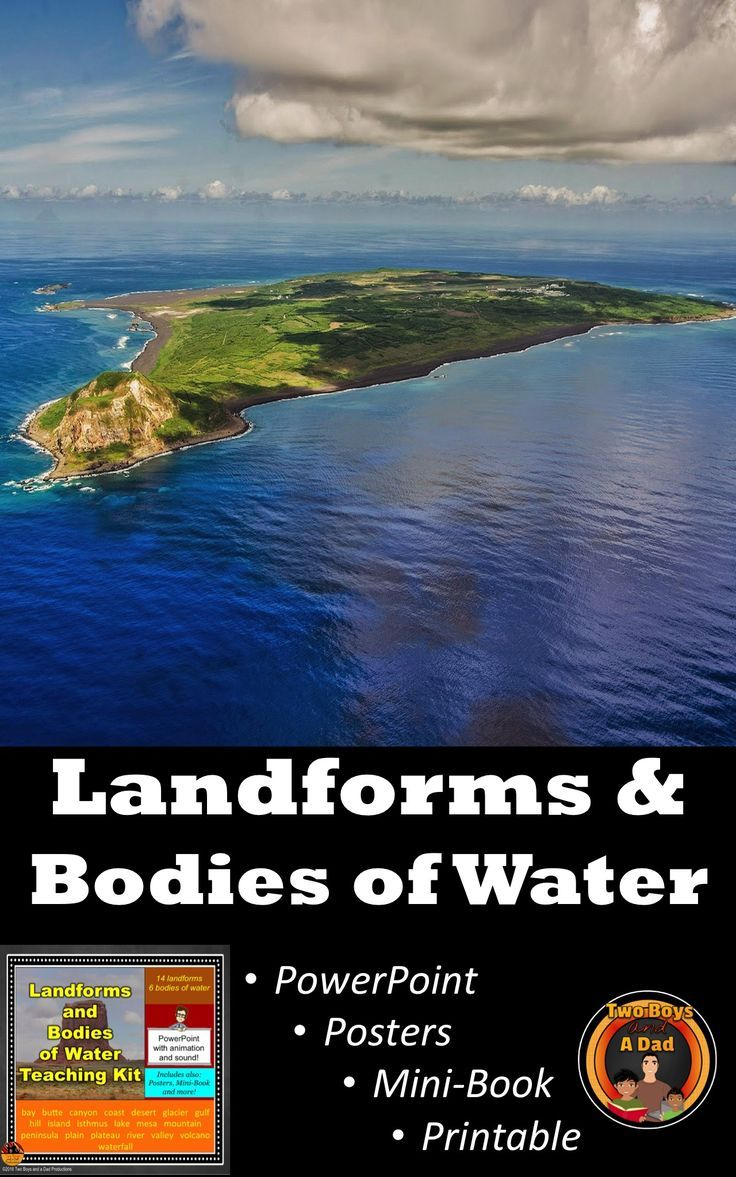 Workbooks landform matching worksheets : The 25+ best Landforms and bodies of water ideas on Pinterest ...