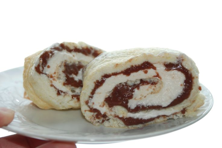 Rockin' Roll Cake! (FP)      8 egg whites     1/4 tsp of cream of tartar     pinch of salt     1/4 cup of Truvia/Xylitol or Erythritol     2...