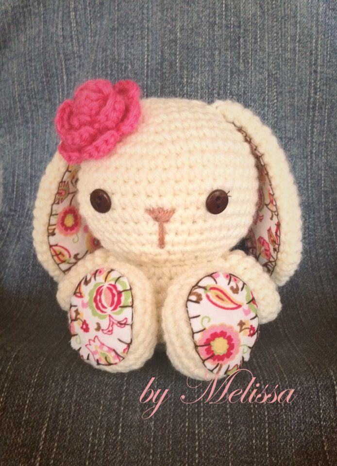 Amigurumi Floppy Ear Bunny : Amigurumi Floppy Ear Bunny amigurumi Pinterest
