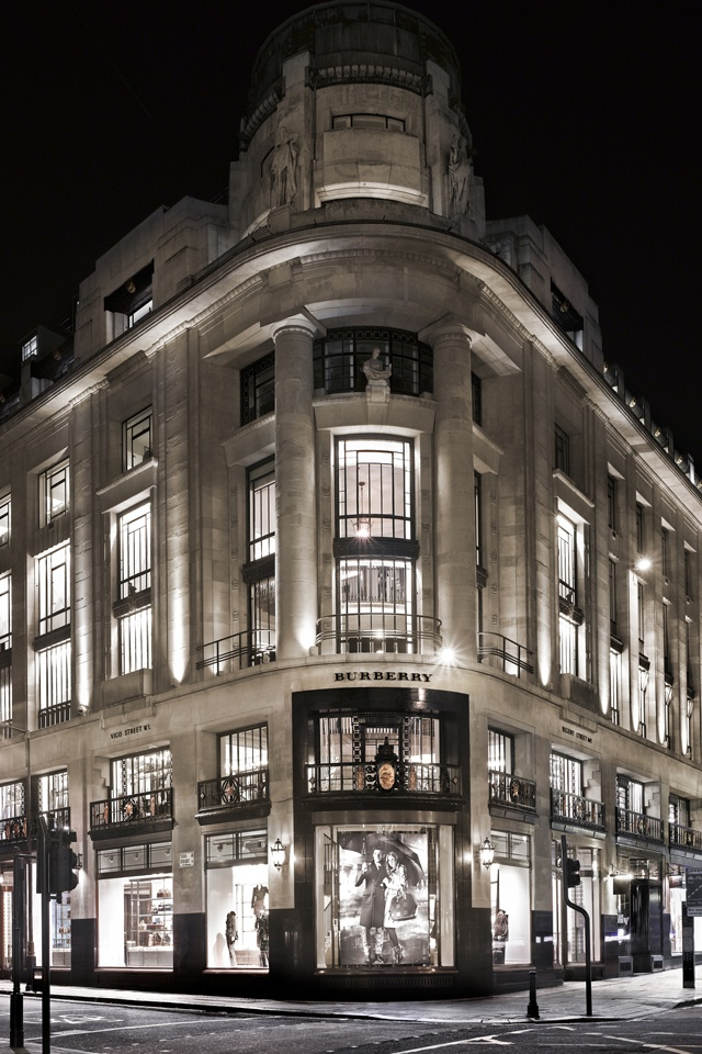 Burberry shop on Regent Street. Must do! This was my home for over six months in 1981-1982. The New Gallery was a 1930's style movie theatre, and my family lived in a small apartment just off the balcony. I have so many stories about this beautiful building.