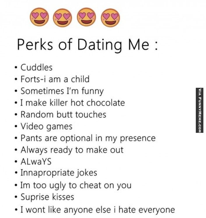 Funny Answers To Perks Of Dating You - fullexamscom