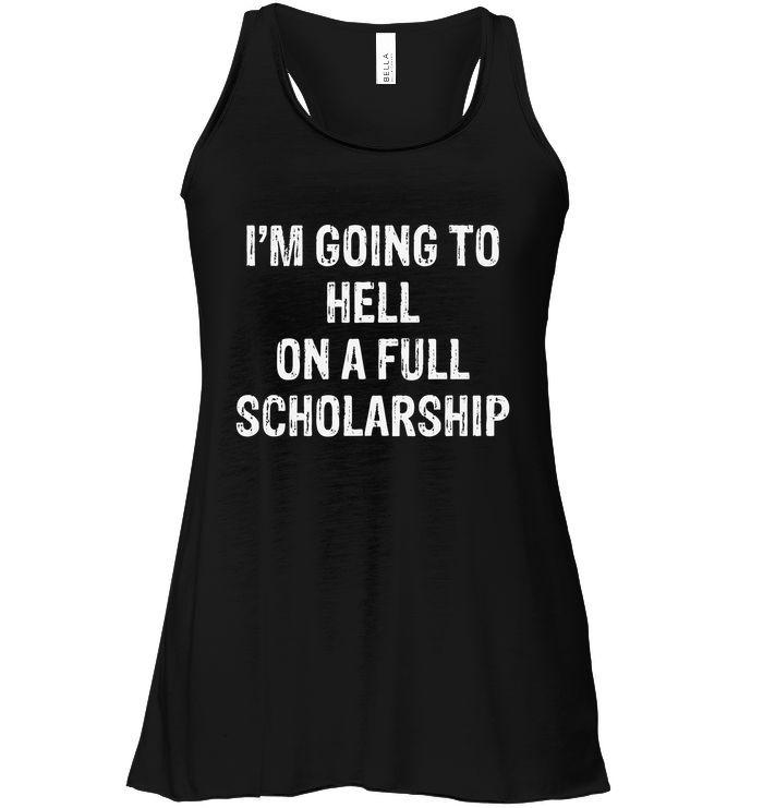 Fun Shirt Wer mich durch die Hölle gehen lässt Teufel Spruch Humor lustig