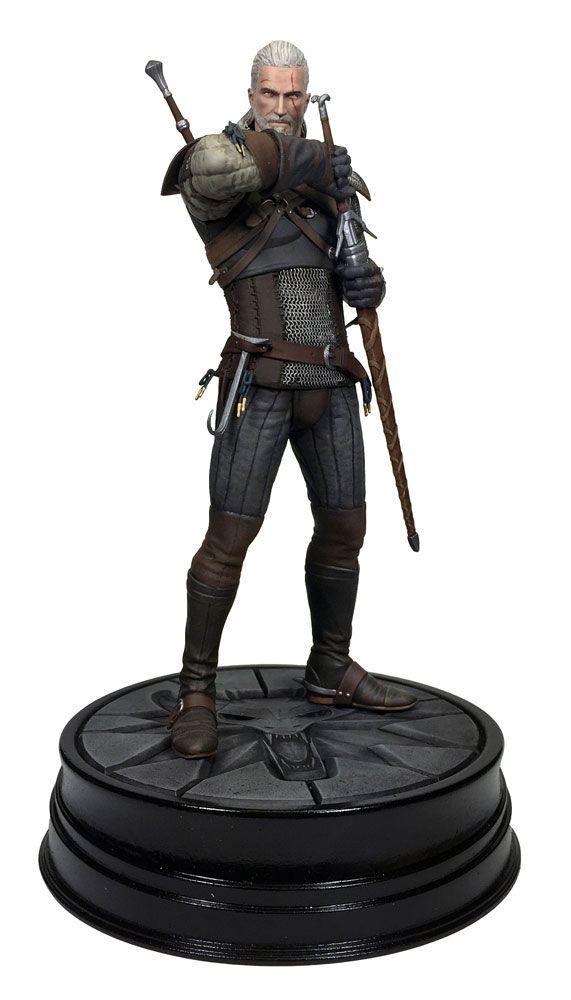 Witcher 3 Wild Hunt PVC Statue Geralt von Riva 20 cm