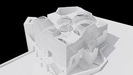 aat architecture studio, Concorso riqualificazioni resti Cattedrale castello Aragonese Ischia.