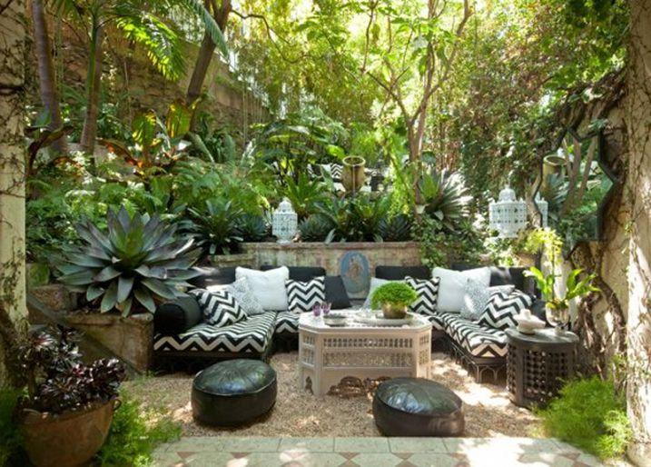 Décoration jardin avec plantes