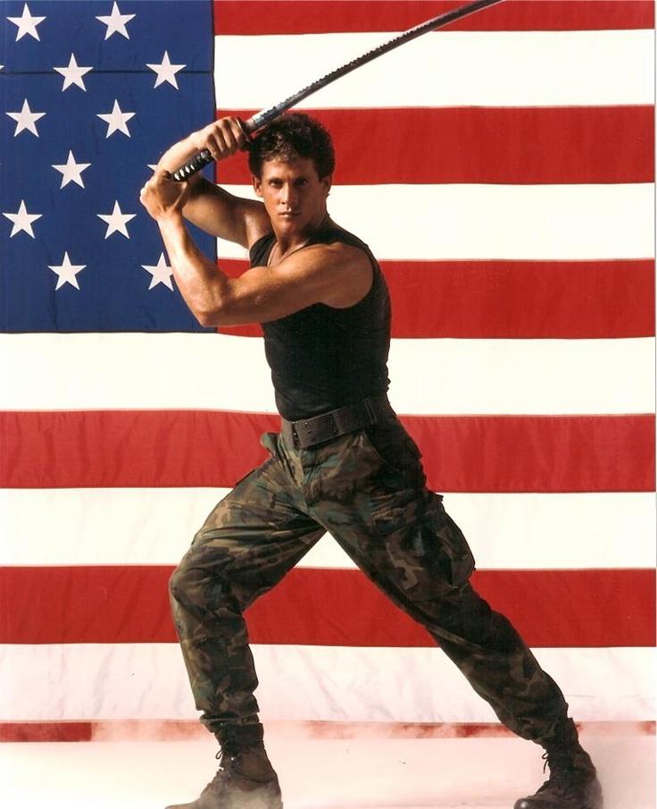 Michael Dudikoff - American Ninja promo poster