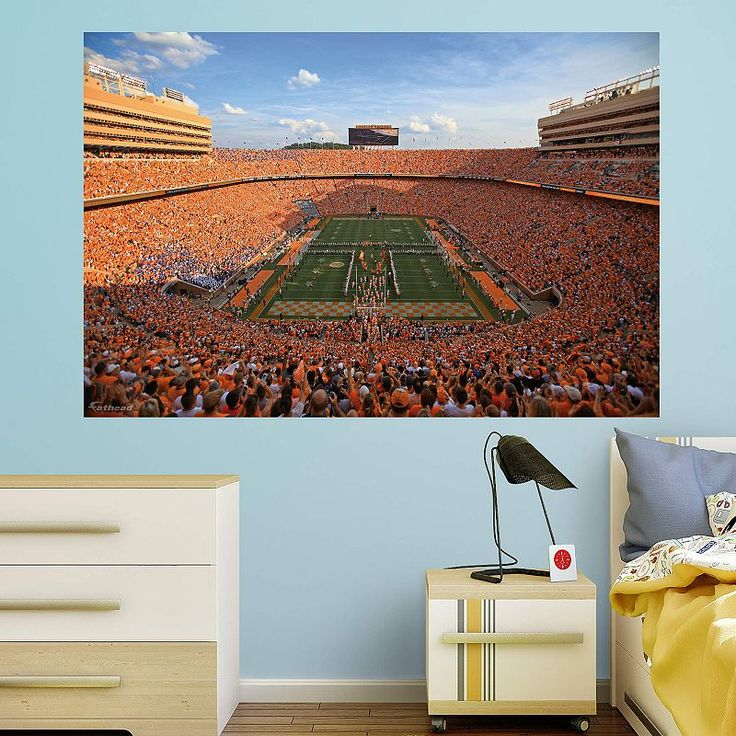 Tennessee Volunteers Neyland Stadium Wall Decal by Fathead, Multicolor