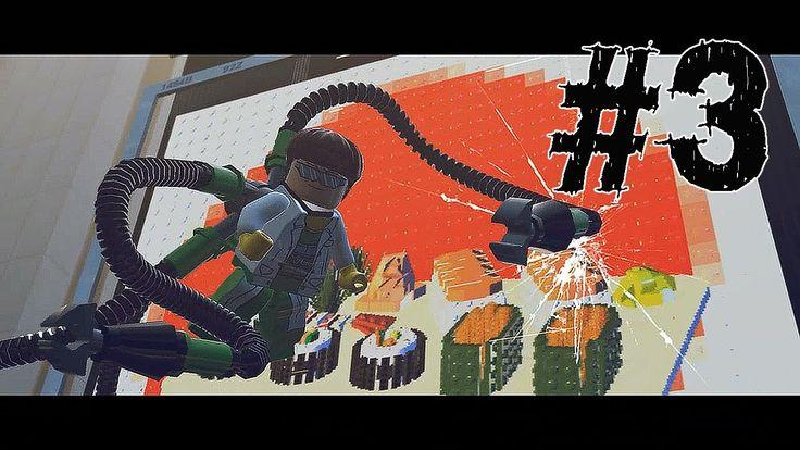 Lego Marvel Super Heroes Gameplay Walkthrough Part 3 - DOCTOR OCTOPUS - ...