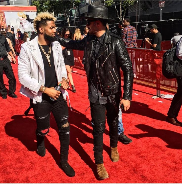 Odell Beckham Jr. Hits ESPYs 2016 Red Carpet in S/S 16 Amiri Jacket And Boots | UpscaleHype