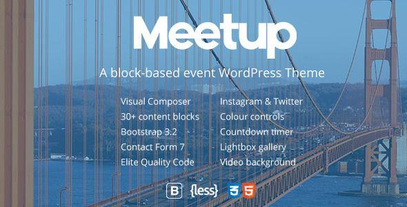 Conference & Event WordPress Theme