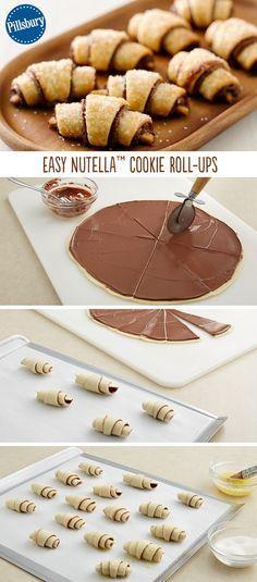 Cornetto alla Nutella Yum !!!