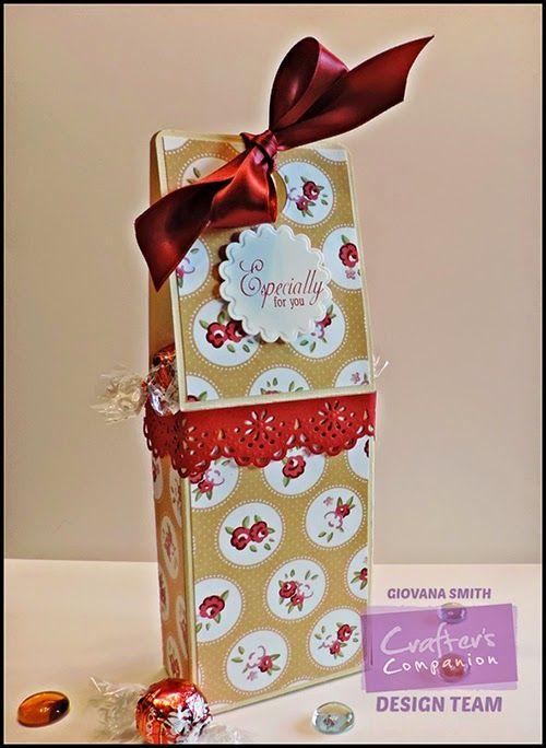 Crafter's Companion USA Information Blog : Tutorial: The Big Score Chocolate Box