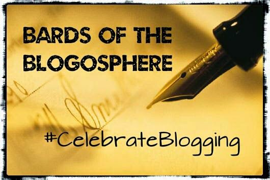 We are the Bards of the Blogosphere and we are doing our bit to #CelebrateBlogging by writing our book and competing in the Game of Blogs.