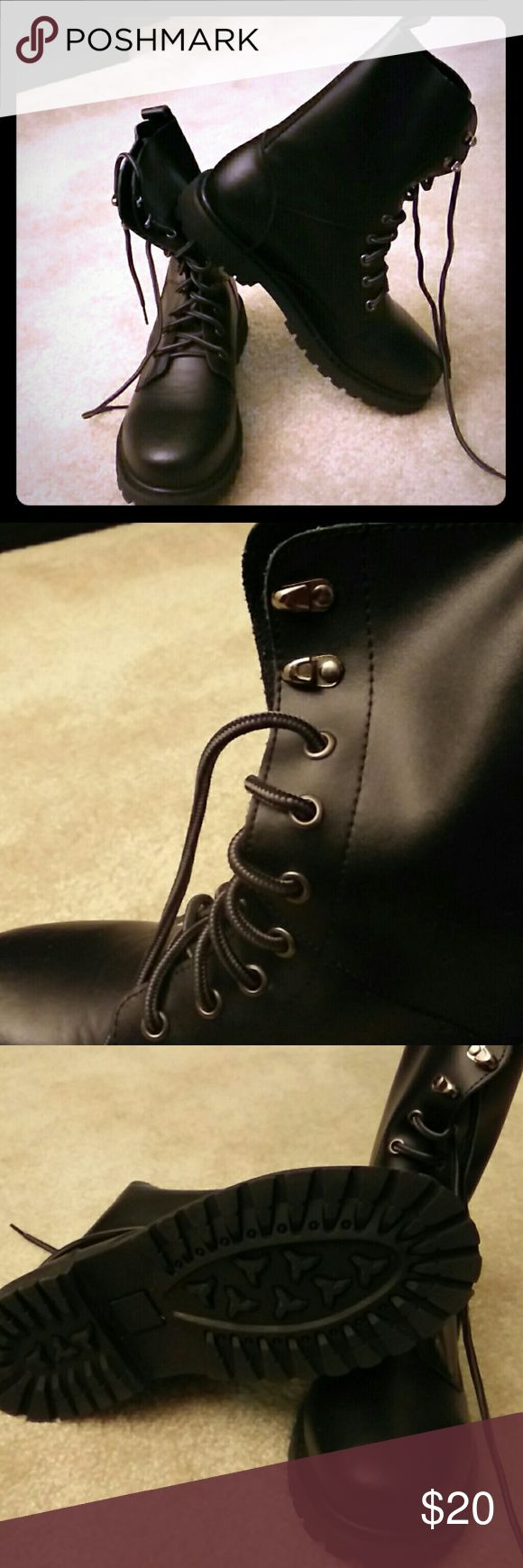 Combat boots for men Combat boots for men,  brand new, never worn Shoes Boots