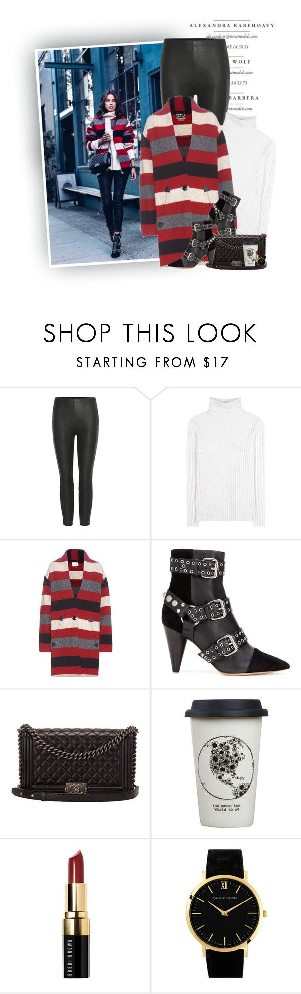 """Stripes & Studs"" by hollowpoint-smile ❤ liked on Polyvore featuring rag & bone, Jardin des Orangers, Étoile Isabel Marant, Isabel Marant, Chanel, Natural Life, Bobbi Brown Cosmetics and Larsson & Jennings"
