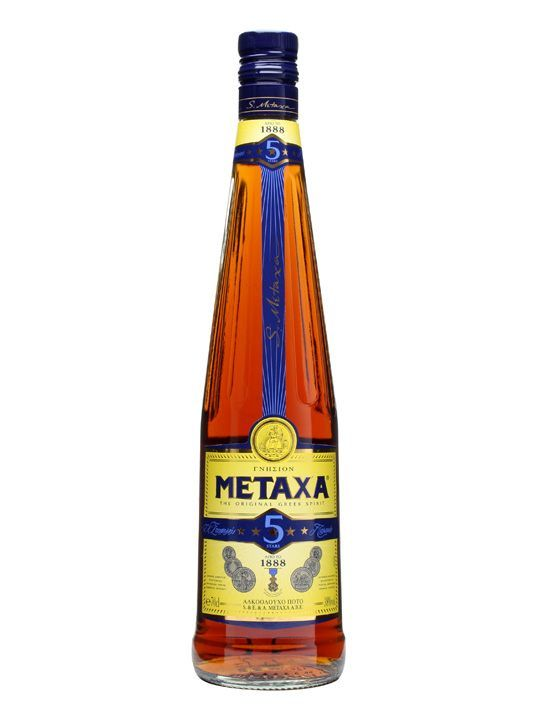 Metaxa 5 Star Brandy : Buy Online - The Whisky Exchange